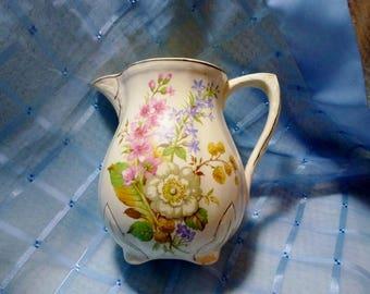 """Vintage """"Alfred Meakin"""" Floral Jug #1"""