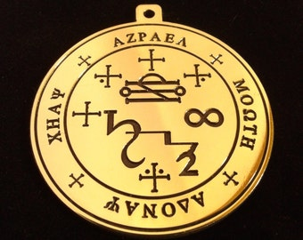 Seal of the Archangels Azrael pendant