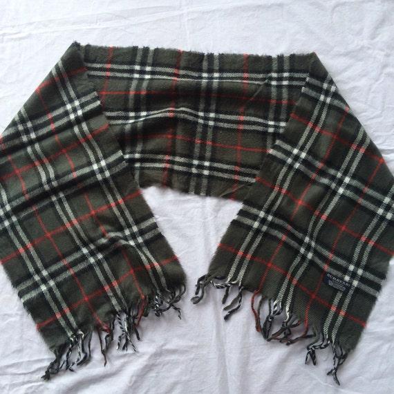 Vintage burberrys muffler scarve England
