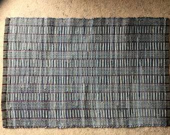 Rag rug 9. 38x25.