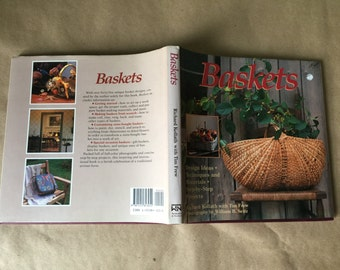 Baskets by Richard Kollath and Tim Frew ISBN 1555843050 Basket Crafting Decorating Book