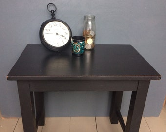 Hand painted Teak Coffee Table / Side Table / Bedside Table / Occassional Table / Lamp Table