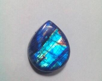 Blue Rainbow Moonstone Cabochon