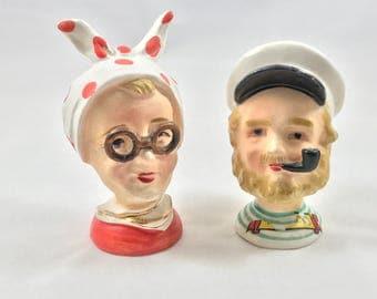 Mr. & Mrs. Nautical Salt and Pepper Shakers