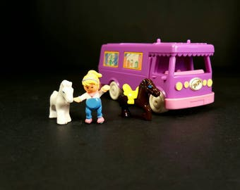 1994 Polly Pocket Stable On The Go