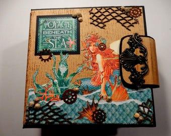 Voyage Beneath the Sea - PDF Mini Album Tutorial