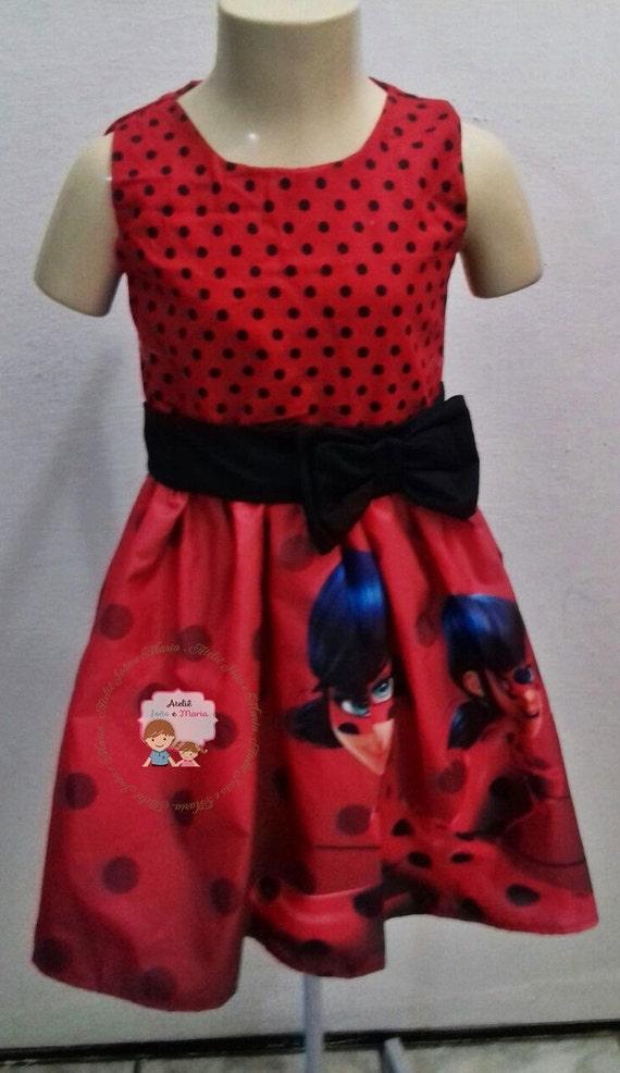 Dress Miraculous Ladybug Costume For Girls