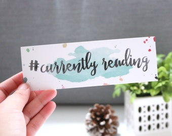 Currently Reading Bookmark - Booklover