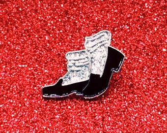 "Michael Jackson Moonwalker 1"" Hard Enamel Pin"