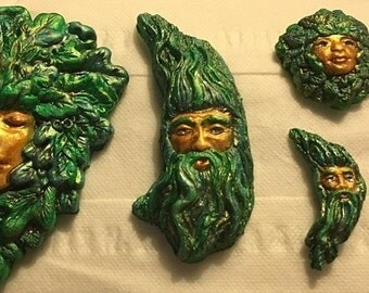 Greenman/Greenwoman Altar Pieces