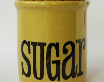 T.G. Green sugar jar vintage retro seventies