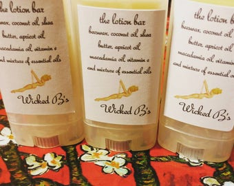 the lotion, bar