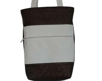 SALE / 50% discount on all bags, leather / handbag, shoulder bag, art. No. 9004