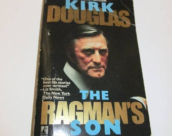 The Ragman's Son by Kirk Douglas   Paperback  Autobiography