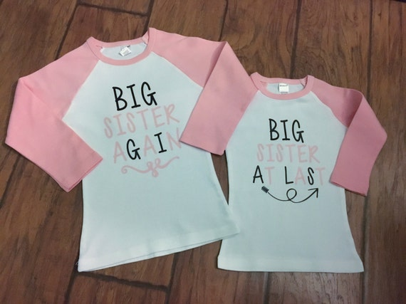 Big sister shirt-big sister-pregnancy announcement-pregnancy announcement shirt-big sister finally-big sister again-finally big sister shirt