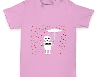Robot Love Baby Toddler T-Shirt
