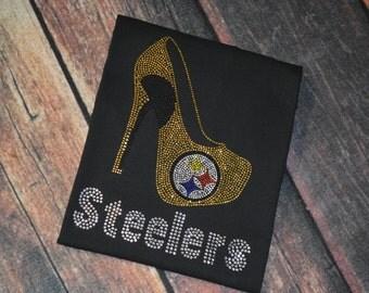 Pittsburgh Steelers with Heel