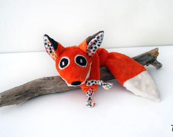 Fox blankie - Stuffed Animal - Baby Shower Gift - Baby gift