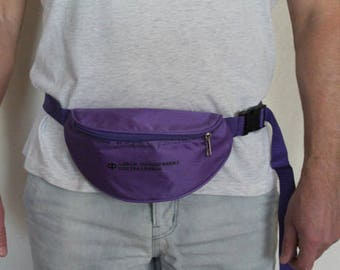 Purple Waist Bag Hip Bag Belt Wallet Fanny Pack Pouch Bag Waist Wallet Bum Bag