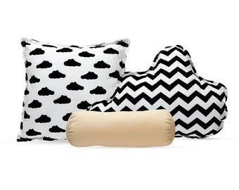 Pillow Set - Black Champagne