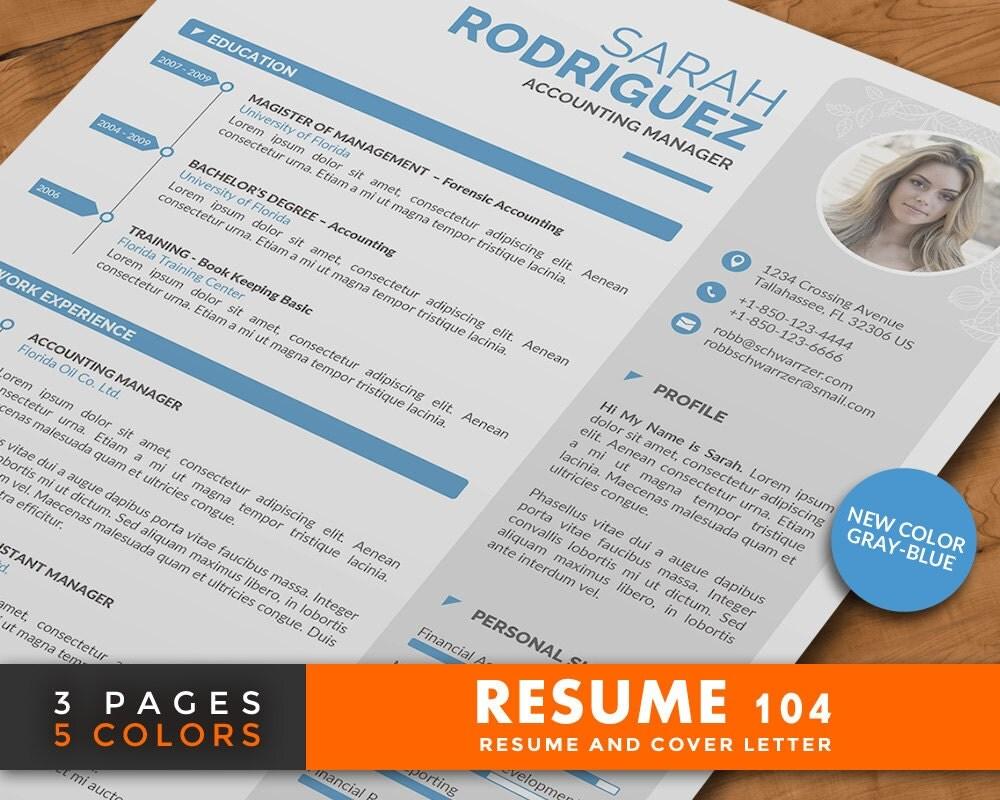 3 page resume design 3 page resume