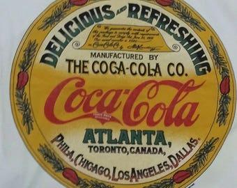 Vintage coca cola 1995 delicous and refreshing rare design size L DEADSTOCK