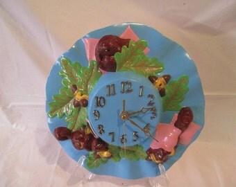 a ceramic clock