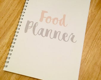 Diet Planner/Diary - 8 Week Planner - Slimming friendly/WW/Standard Diet - Food Planner