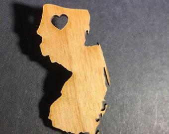 I love New Jersey pin