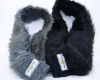 Camera Strap Cover Sleeves, Faux Fur, fit over the existing camera strap giving more neck comfort during long sessions