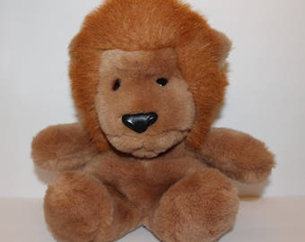 Vintage Gund Lion Plush Roarry, Lion Stuffed Animal