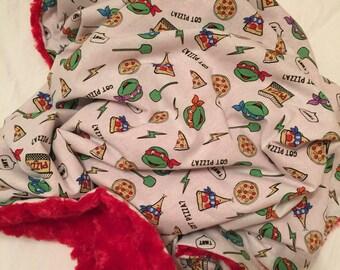 Ninja Turtle Baby Blanket