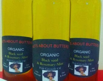 Organic Hair growth oil