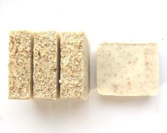 Oatmeal Soap, Gift for Mom, Homemade Soap