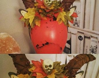 Autumn Fawn headpiece