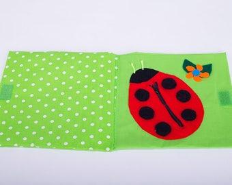 Sensory Quiet Book Montessori Activity Page