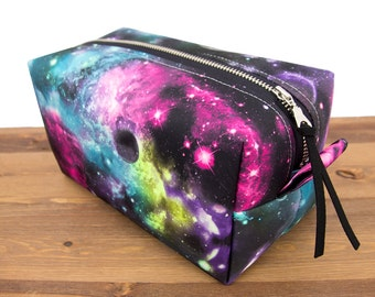 Cosmetic Bag - Make Up Bag - Galaxy - Toiletry Bag - Bestfriend Gift - Gift for Teen - Outer Space - Cosmic - Travel Bag - Universe #47