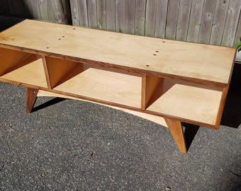 Mid-Century Style Stereo Console, hand-built
