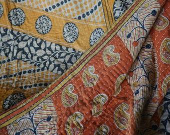 Bed throw or bedspread (bed spread) odd vintage (sold)