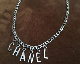 Chanel// VINTAGE Look Choker// Free US Shipping & Gift