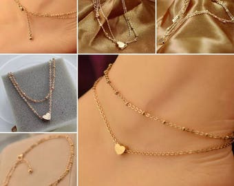 The Heart anklet// Vintage Look// Free Shipping & Gift