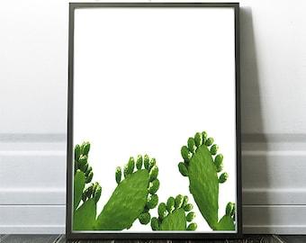 Cactus Decor Home Decor Art Arizona Cactus Desert Prints Southwestern Style
