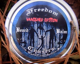 Freedom Chasers Organic & Natural Beard Balm Vanished Edition (Scentless) 2oz Tin