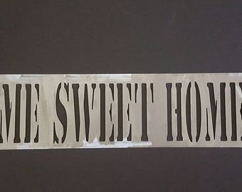 Metal Home Sweet Home Sign with Home Outline and Heart/Metal Wall Art/Home Decor/Entryway Welcome Sign/Wall Grouping/Modern Metal Art