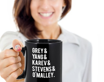 Grey's Anatomy Mug - Grey's Anatomy Coffee Mug - Grey Sloan Hospital