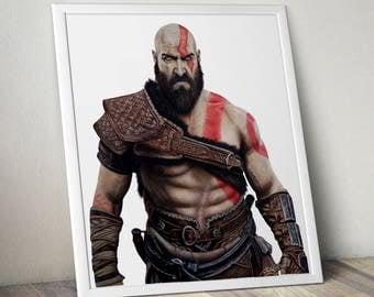 PRINT - Kratos (25x21cm)