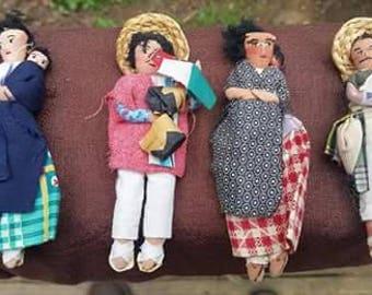 Folk Art Mexican dolls