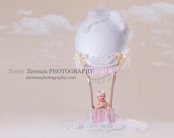 Pink Hotair Balloon