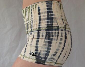 Yoga Shorts in Jasper Tie Dye/Yoga/Women's Yoga Shorts/Tie Dye Booty Shorts/Tie Dye Yoga Shorts/Festival Shorts/Boho/Yoga Shorts/Yoga/Yoga