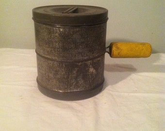Rare Double Sided Flour Sifter